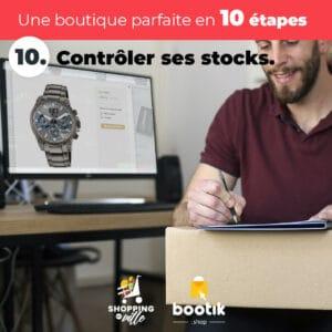 Conseil N°10 :Contrôler ses stocks
