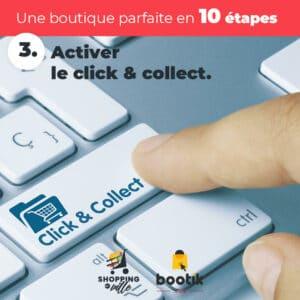 Conseil N°3: Activer le click & collect sur vos produits